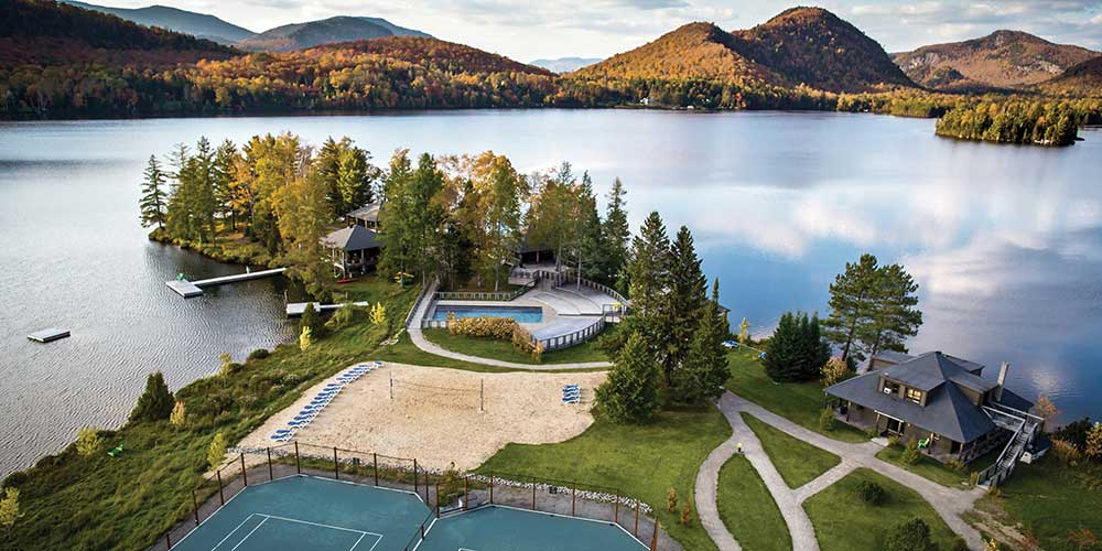 Cottages condos and suites for rent suites sur lac for Lac miroir mont tremblant